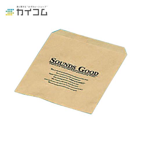 SOUNDS袋(大) クラフトサイズ : 115×130mm入数 : 3000単価 : 3.4円(税抜)