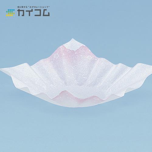 紙すき鍋 M30-009(花ちらし)サイズ : 240×240mm入数 : 12単価 : 6003.45円(税抜)