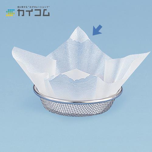 紙すき鍋 M30-010(荒磯)サイズ : 240×240mm入数 : 12単価 : 6003.45円(税抜)