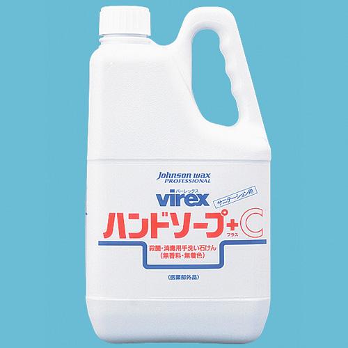 バーレックスハンドソーププラスC 4Lサイズ : 4L入数 : 4単価 : 4336.58円(税抜)