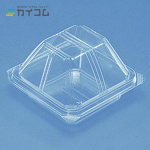 ユニコン LS-02(透明)サイズ : 110×110×30/40mm入数 : 900単価 : 12.98円(税抜)