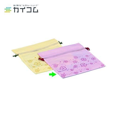 巾着花便り 小(ピンク)サイズ : 250×150×250mm入数 : 500単価 : 72.58円(税抜)
