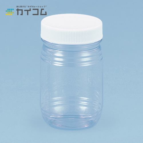 PET-450H 白フタ付サイズ : φ77×126mm(500cc)入数 : 160単価 : 95.25円(税抜)