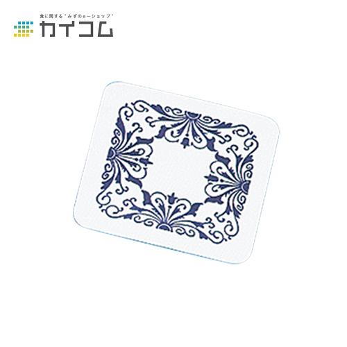 角型コースター(紺)サイズ : 0.6×80mm入数 : 5000単価 : 2.91円(税抜)