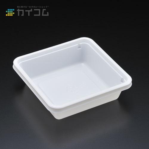 エスコン角103-W(白) 本体サイズ : 111×111×31mm入数 : 2000単価 : 9.95円(税抜)
