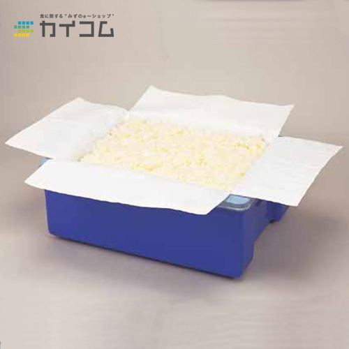 ライスガード10kg用(ホワイト)400×330×500mmサイズ : 400×330×500mm入数 : 250単価 : 55.64円(税抜)
