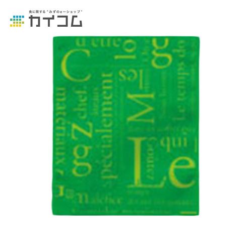 カマスGT No.2洋柄グリーンサイズ : 115×140mm入数 : 5600単価 : 5.44円(税抜)