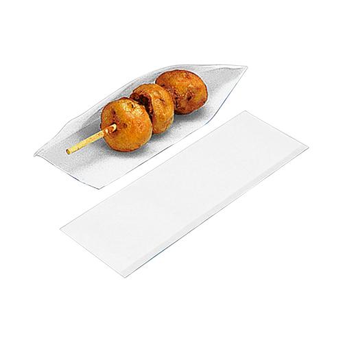 ドックスリーブ 白 ホットドック ホットドッグ 容器 フランクフルト 業務用 袋 ホットドックサイズ : 80(75)×225mm入数 : 4000単価 : 3.5円(税抜) チーズハットグ チーズハッドグ チーズドック チーズドッグ