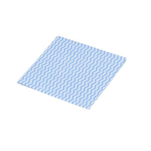 カウンタークロス(BLUE)厚手ポリ包装EタイプHalfSizeサイズ : 300×300mm入数 : 1440単価 : 9.5円(税抜)