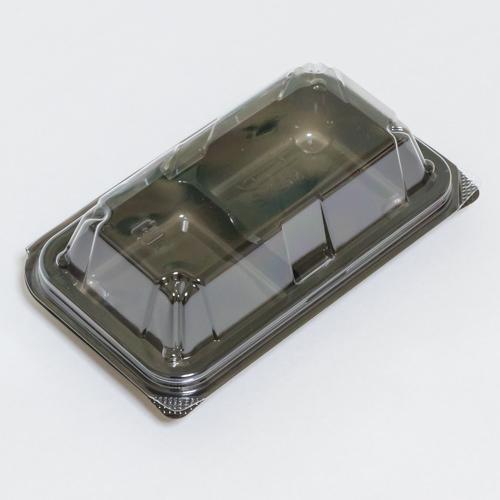 和菓子容器 送料無料 ユニコンMS-2 業界No.1 黒 サイズ 今季も再入荷 : 10.56円 135×83×39mm入数 2000単価 税抜