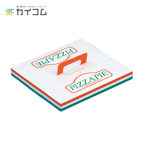 テイクアウト用ピザ箱 ピザ箱12インチサイズ : 310×310×30mm入数 : 200単価 : 69.79円(税抜)店舗用 業務用 お持ち帰り用 出前 デリバリー ピザケース ピザBOX