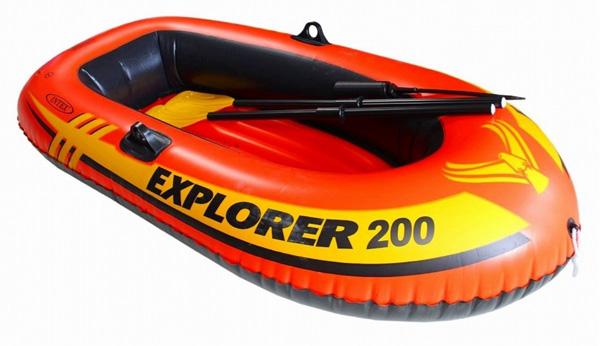 夏物激安特価 INTEX エクスプローラー200 人気の製品 ツーマンボート58331 格安SALEスタート 二人乗り用 エアーボート 185×94