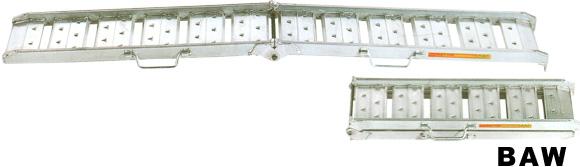 送料無料 SALENEW大人気! 農機等に スロープ アルミブリッジ 昭和ブリッジ BAW-210 0.5t 2本セット 新発売 BAW-210-25-0.5 CB99 おすすめ ツメ 歩行農機向け 250幅 おしゃれ 折りたたみ式