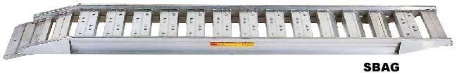 昭和ブリッジ アルミブリッジ SBAG-180 0.25t/1本・300幅 [セーフベロ] 【スロープ アルミブリッジ 昭和ブリッジ】【おしゃれ おすすめ】 [CB99]