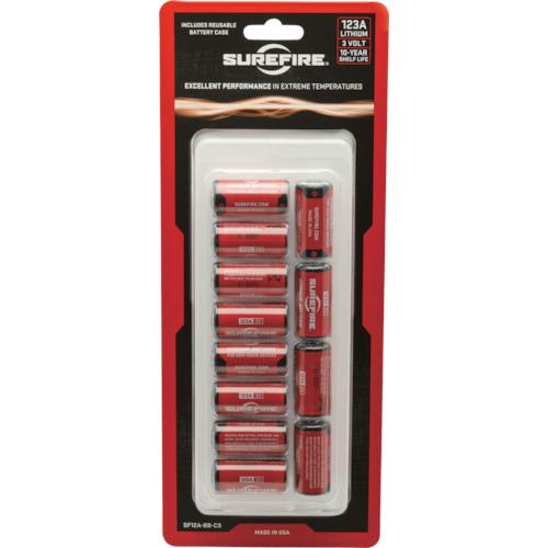 SUREFIRE バッテリー 1箱(12個入り) SF12BB 【DIY 工具 TRUSCO トラスコ 】【おしゃれ おすすめ】[CB99]