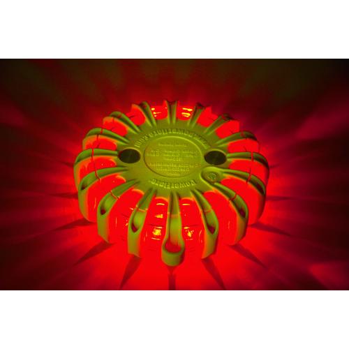 パワーフレア社 PF セーフティライト 赤 PF210RY 【DIY 工具 TRUSCO トラスコ 】【おしゃれ おすすめ】[CB99]