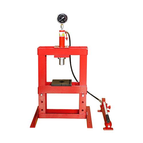 イリイ 油圧プレス 10ton TR-184SP 【T184 一部組み立て式 部品の圧入 材料の曲げ 材料実験 材力 圧力 押し加工 トン】【おしゃれ おすすめ】[CB99]