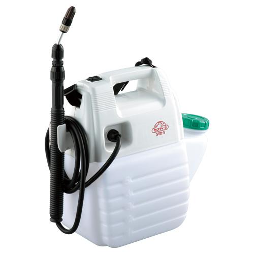 セフティー3・電池式噴霧器5L・SSD-5 【噴霧 噴霧器 噴霧器 電池式 水遣り 防虫 噴射 小型 園芸】【おしゃれ おすすめ】[CB99]