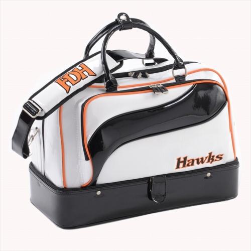 ソフトバンクホークス 2段式ボストンバッグ ダイエーホークスカラー WH/BK 【Fukuoka Softbank Hawks グッズ ボストン バッグ 鞄 Boston bag ゴルフ用品 関連商品 】【avt】【おしゃれ おすすめ】[CB99]