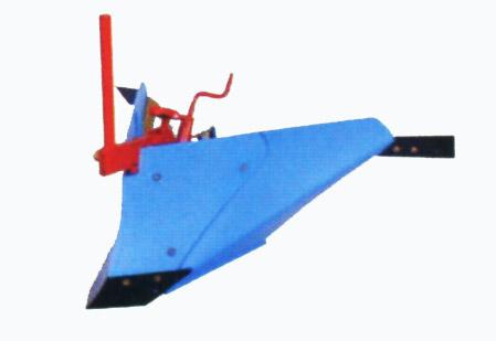 [FR316・FR716用]ブルー溝浚器(尾輪付)【管理機 作業機 台形 中耕培土 培土機】【おしゃれ おすすめ】 [CB99]