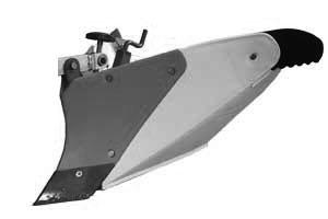 [FR316・FR716用]プラ溝浚器B-3型(尾輪付)【管理機 作業機 台形 中耕培土 培土機】【おしゃれ おすすめ】 [CB99]