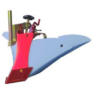 [FR316・FR716用]ミニアポロ培土器B-5型(尾輪付)【耕耘機 耕運機 耕うん機 アタッチメント 管理機 作業機 培土機】【おしゃれ おすすめ】 [CB99]