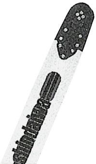 新ダイワ エンジンチェンソー ガイドバー(スプロケットノーズ・先端交換式480mm)X125-000131
