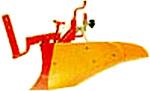 [新ダイワ 耕運機 CRR630用]オレンジ 培土器(尾輪付)【耕耘機 耕運機 耕うん機 アタッチメント 管理機 作業機 培土機】【おしゃれ おすすめ】 [CB99]