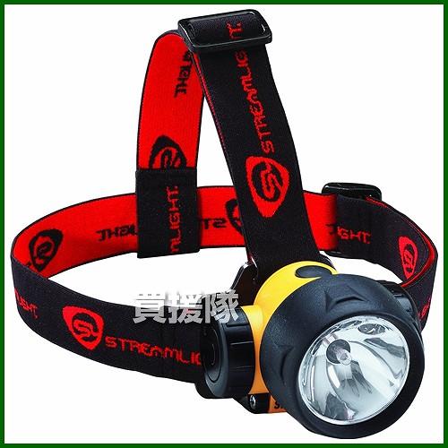 STREAMLIGHT(ストリームライト) ヘッドライト HAZ-LO イエロー WSL31200 【プロ用LEDヘッドランプ 単3 トライデントLED 】【おしゃれ おすすめ】[CB99]