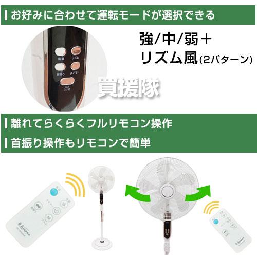 Erica Japan highly ving fans (remote control) SKJ-SH405HR [CB99]