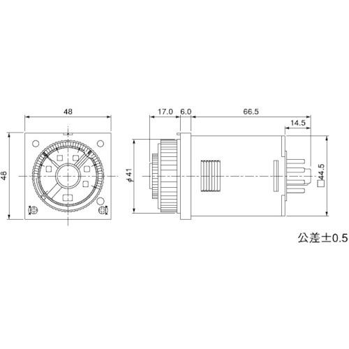 パナソニック デバイスSUNX(株) Panasonic ツインタイマ PM4HW-H-AC240VW ATC72171 【DIY 工具 TRUSCO トラスコ 】【おしゃれ おすすめ】[CB99]