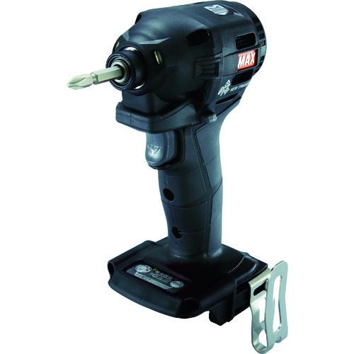 マックス(株) MAX 18V充電インパクトドライバ本体のみ(クロ) PJ-ID152K 【DIY 工具 TRUSCO トラスコ 】【おしゃれ おすすめ】[CB99]