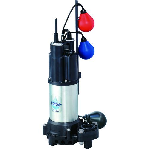 川本 排水用樹脂製水中ポンプ(汚水用) WUP4-505-0.75LN 【DIY 工具 TRUSCO トラスコ 】【おしゃれ おすすめ】[CB99]
