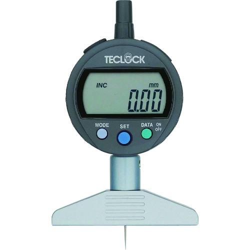 テクロック デジタルデプスゲージ 測定範囲12mm DMD-210J 【DIY 工具 TRUSCO トラスコ 】【おしゃれ おすすめ】[CB99]