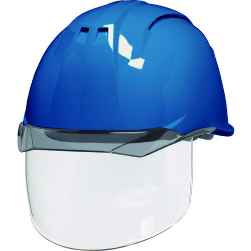 DIC 透明バイザーヘルメット(シールド面付) AA11EVO-CSW KP スカイブルー/スモーク AA11EVO-CSW-HA6-KP-B/S 【DIY 工具 TRUSCO トラスコ 】【おしゃれ おすすめ】[CB99]