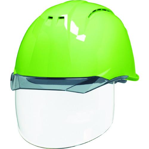 DIC 透明バイザーヘルメット(シールド面付) AP11EVO-CSW KP フレッシュグリーン/スモーク AP11EVO-CSW-HA6-KP-FG/S 【DIY 工具 TRUSCO トラスコ 】【おしゃれ おすすめ】[CB99]