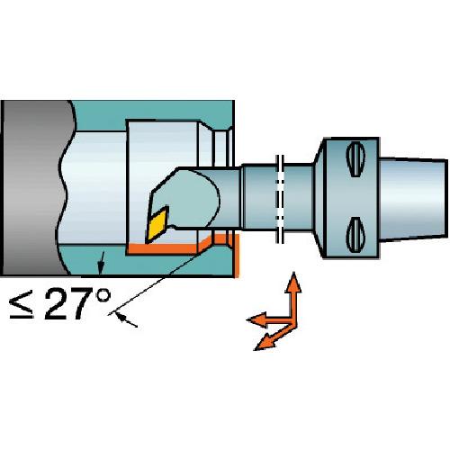 サンドビック コロマントキャプト コロターン107用カッティングヘッド C4-SDUCR-11070-07 【DIY 工具 TRUSCO トラスコ 】【おしゃれ おすすめ】[CB99]