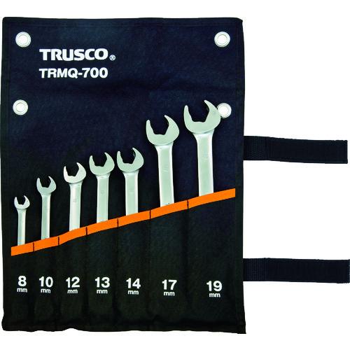 トラスコ中山(株) TRUSCO クイックラチェットコンビネーションレンチセット7本組 TRMQ-700 【DIY 工具 TRUSCO トラスコ 】【おしゃれ おすすめ】[CB99]