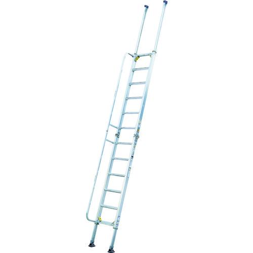 アルインコ 階段はしご 3.40~4.65m 最大使用質量100kg HBW47A 【DIY 工具 TRUSCO トラスコ 】【おしゃれ おすすめ】[CB99]