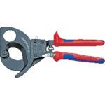 KNIPEX ラチェットケーブルカッター 280mm 9531-280 【DIY 工具 TRUSCO トラスコ 】【おしゃれ おすすめ】[CB99]