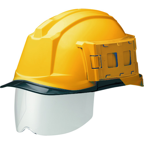 ミドリ安全 IDケース付ヘルメット(ワイドシールド付) SC-19PCLS-ID RA3 α イエロー/スモーク SC-19PCLS-ID-RA3-ALPHA-Y/S 【DIY 工具 TRUSCO トラスコ 】【おしゃれ おすすめ】[CB99]