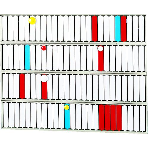 (株)LIHIT LAB. リヒト 回転標示盤(100口座) S2534 【DIY 工具 TRUSCO トラスコ 】【おしゃれ おすすめ】[CB99]