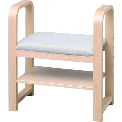 アイリスオーヤマ(株) IRIS 512789 玄関椅子 CG-55 ナチュラル GC-55-N 【DIY 工具 TRUSCO トラスコ 】【おしゃれ おすすめ】[CB99]