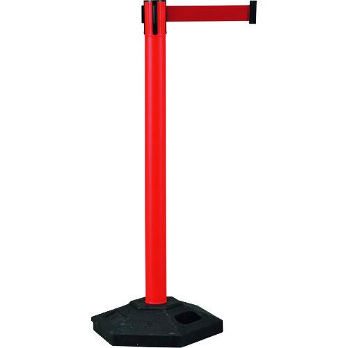 緑十字 ベルトパーテーション 赤 高さ1020mm 六角ベースタイプ 6.5kg 332102 【DIY 工具 TRUSCO トラスコ 】【おしゃれ おすすめ】[CB99]