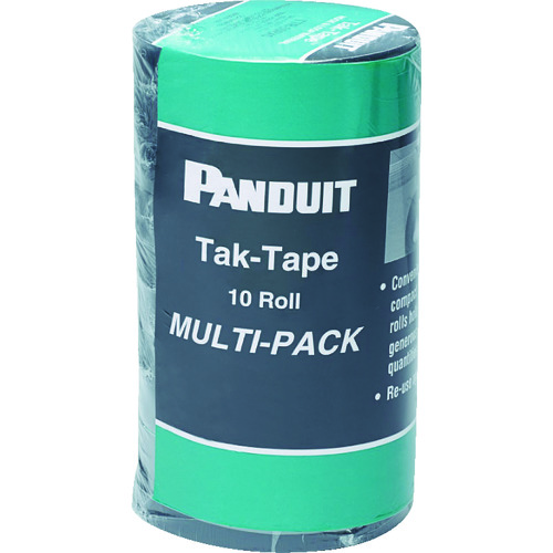 パンドウイット タックテープ(ロールタイプ)10.6mX10巻入り TTR-35RX0 【DIY 工具 TRUSCO トラスコ 】【おしゃれ おすすめ】[CB99]