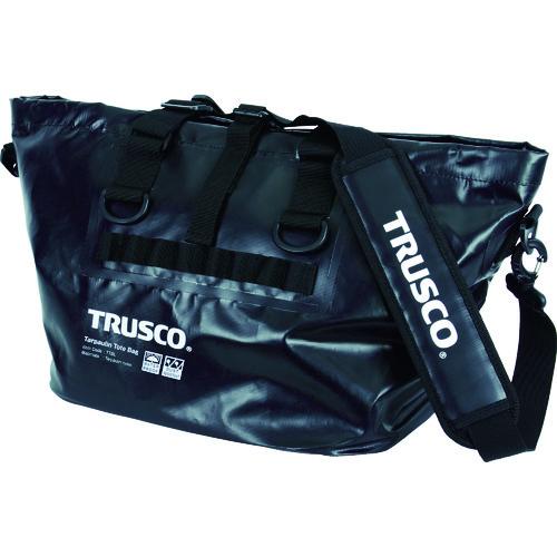 トラスコ中山(株) TRUSCO 防水ターポリントートバッグ Lサイズ ブラック TTBL-BK 【DIY 工具 TRUSCO トラスコ 】【おしゃれ おすすめ】[CB99]