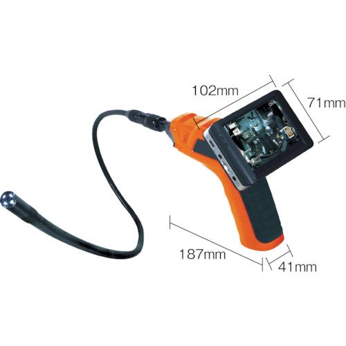 日動 工業用内視鏡 ファイバースコープ IES35-3 【DIY 工具 TRUSCO トラスコ 】【おしゃれ おすすめ】[CB99]