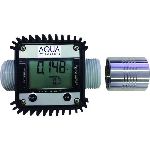 アクアシステム アドブルー・水用簡易流量計 (電池式) TB-K24-AD 【DIY 工具 TRUSCO トラスコ 】【おしゃれ おすすめ】[CB99]