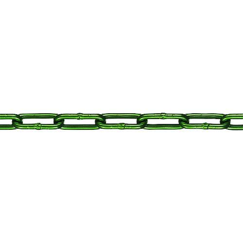 水本 アルミカラーチェーン グリーン AL-7GR 長さ・リンク数指定カット 14.1~15m AL-7-15C-GR 【DIY 工具 TRUSCO トラスコ 】【おしゃれ おすすめ】[CB99]
