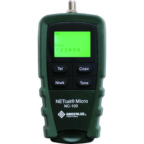 グッドマン LCD表示LAN・電話・同軸テスターNC100 NC100 【DIY 工具 TRUSCO トラスコ 】【おしゃれ おすすめ】[CB99]